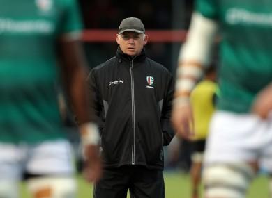 Former Ireland boss Declan Kidney is London Irish head coach.