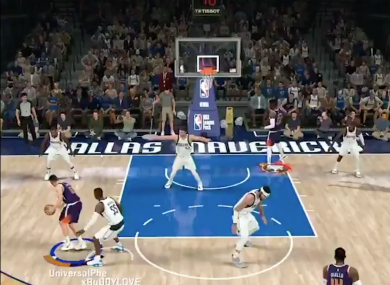 The Mavs beat the Suns 150-136 in last night's e-sports game.