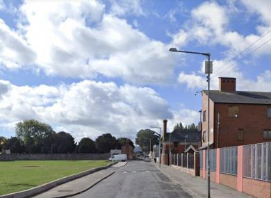 St Vincent's Street West in Inchichore, Dublin