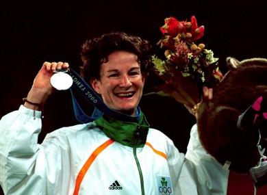 Sonia O'Sullican won silver at Sydney 2000.