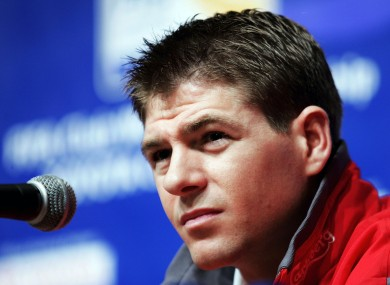 Steven Gerrard: may be off at the end of the season.