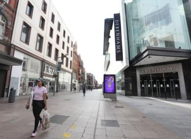 Debenhams store on Henry Street in Dublin.
