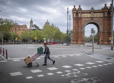 Barcelona earlier this month.