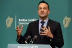 Taoiseach Leo Varadkar at a recent press briefing.