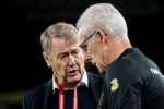 Age Hareide and Mick McCarthy ahead of last November's Euro 2020 qualifier in Dublin. Denmark drew 1-1 to pip Ireland to automatic qualification.