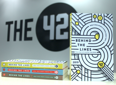 The team behind The42 publish Behind The Lines each year, featuring some of our favourite long reads.