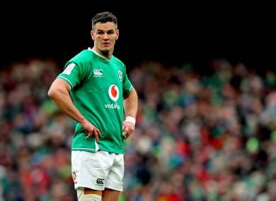 Ireland captain Johnny Sexton.