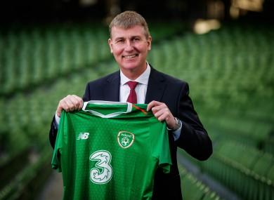 Ireland's new football manager, Stephen Kenny.