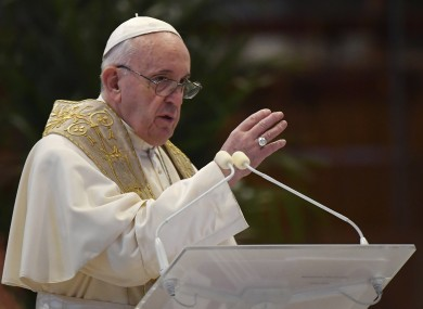 Pope Francis delivers his Urbi et Orbi message today.