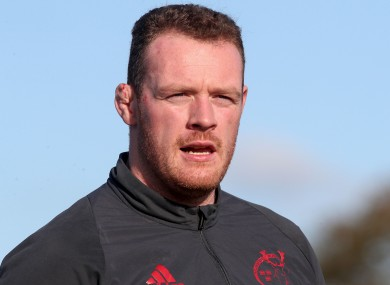 Munster's Brian Scott has been forced to retire.
