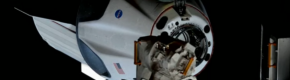'Crew Dragon has arrived': SpaceX capsule successfully docks with International Space Station