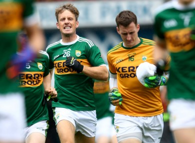 Ex-Kerry forward Donnchadh Walsh.