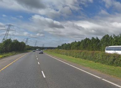 The M1 road in Dublin.