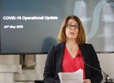 HSE Chief Operations Officer Anne O'Connor.
