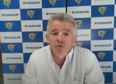 Ryanair CEO Michael O'Leary on Sky News this morning.