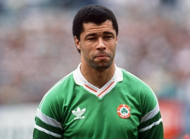 Paul McGrath says he became friends with Christy Moore after meeting him in Crumlin.