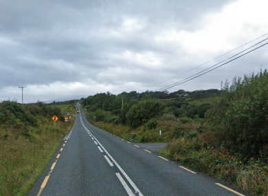 N59 between Mulranny and Newport in Co Mayo