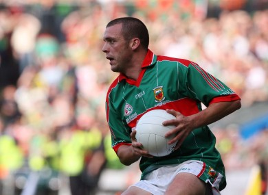 Trevor Mortier in action for Mayo [file photo].