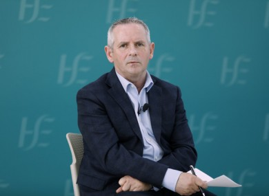 HSE CEO Paul Reid (file photo)