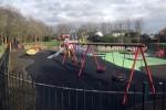 A playground in Johnstown Park, Glasnevin, Dublin.