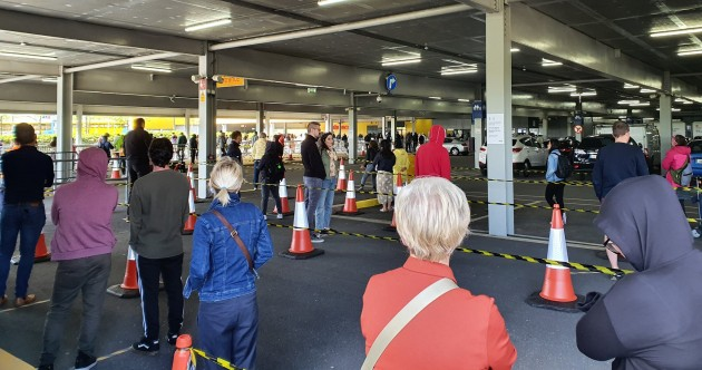 'We need furniture, carpets, some plants': Large queue outside Ikea store in Dublin as Phase Two begins