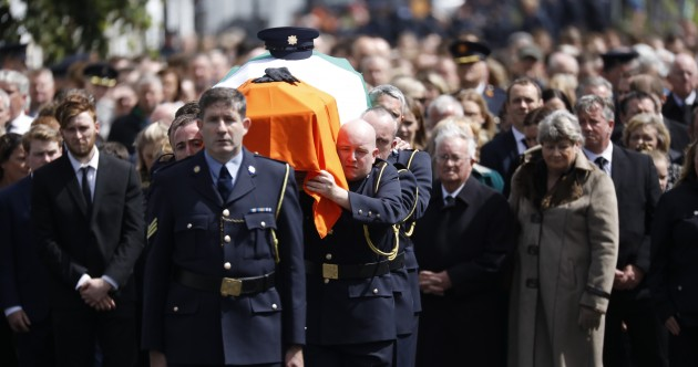 Funeral of Detective Garda Colm Horkan taking place in Co Mayo