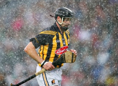 Jackie Tyrrell during the 2014 All-Ireland semi-final against Limerick he refers to.