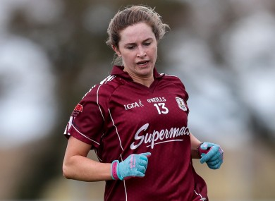 Mairead Seoighe previously lined out for Galway.