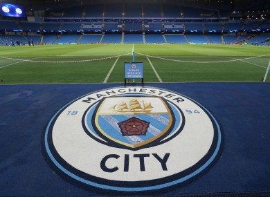 A view of Manchester City's Ethiad Stadium.