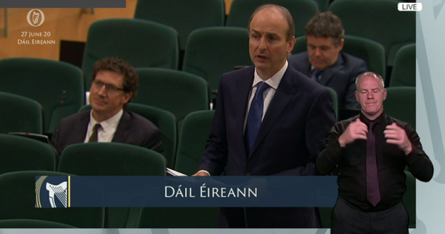 As it happened: Taoiseach Micheál Martin confirms his Cabinet line-up in the Dáil