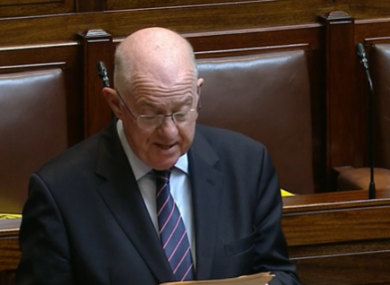 Minister for Justice Charlie Flanagan.