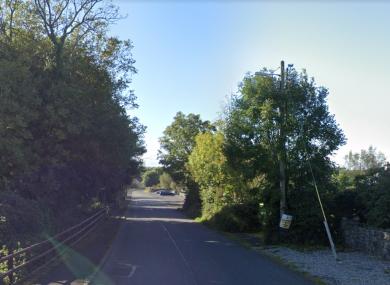 A section along Creggs Road.