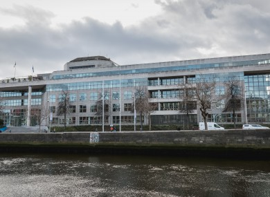 Dublin City Council offices at Wood Quay.