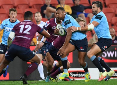 Queensland Reds and New South Wales Waratahs will kick the season off.