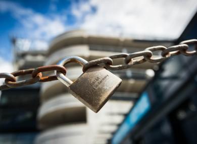 Locked down: Croke Park.