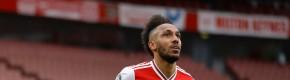 Aubameyang makes history as Arsenal maintain European ambitions