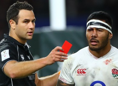 Tuilagi faces a red card from England unless an agreement is reached.
