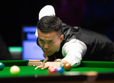 Former world number five Marco Fu has withdrawn.