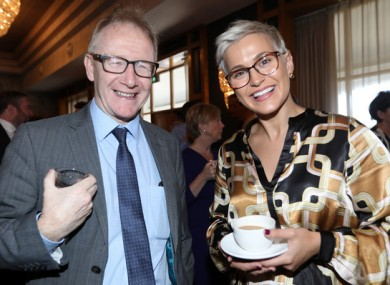 Frank Feighan alongside Fine Gael MEP Maria Walsh.