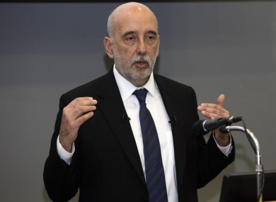 Governor of the Central Bank Gabriel Makhlouf last year.