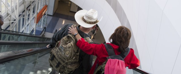Passengers In Dallas-Fort Worth. (File)