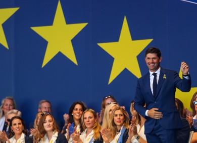 Europe will be led by skipper, Padraig Harrington, next year.