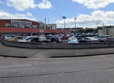 KIlbarrack Shopping Centre in Dublin 5.