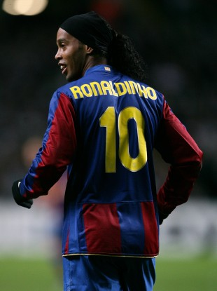 This former footballer played alongside Brazilian icon Ronaldinho at some point.