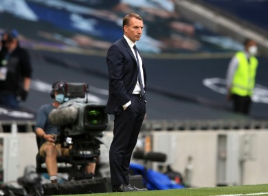 Rodgers believes Leicester can defeat Manchester United tomorrow.