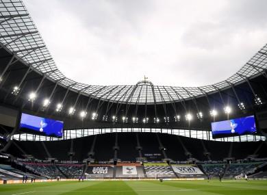 The Tottenham Hotspur Stadium (file pic).