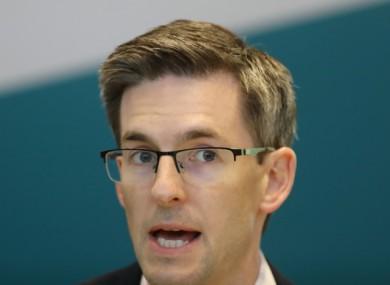 Dr Ronan Glynn at a media briefing last week.
