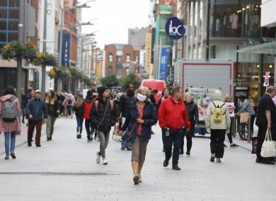 File image. Henry St in Dublin.