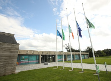 A view of FAI HQ at Abbottstown.