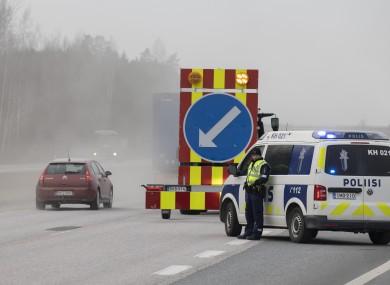 Police in Finland.